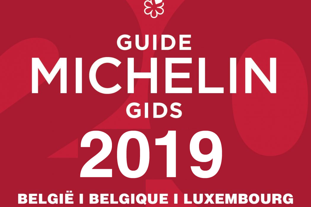 Guide Michelin 2019 Belgique Luxembourg