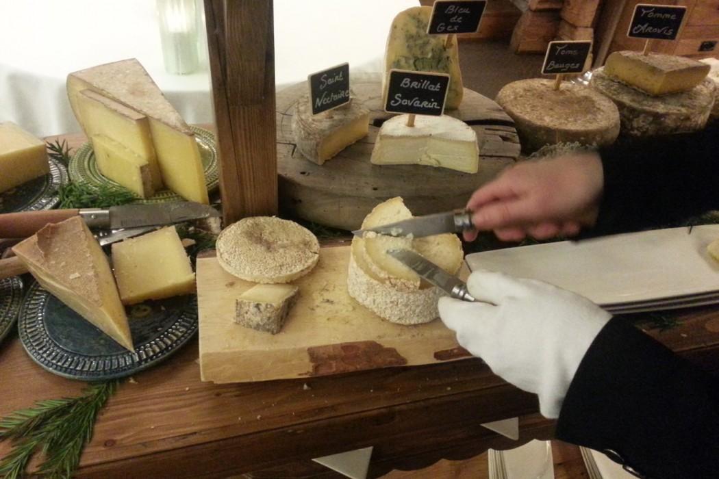 Les fromages de Yoann Conte de la Maison Bleue