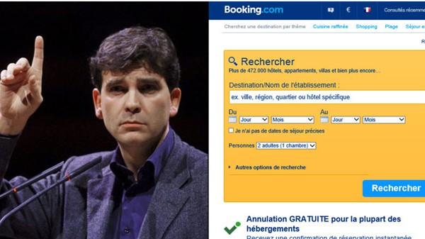 Booking assigné en justice par Arnaud Montebourg