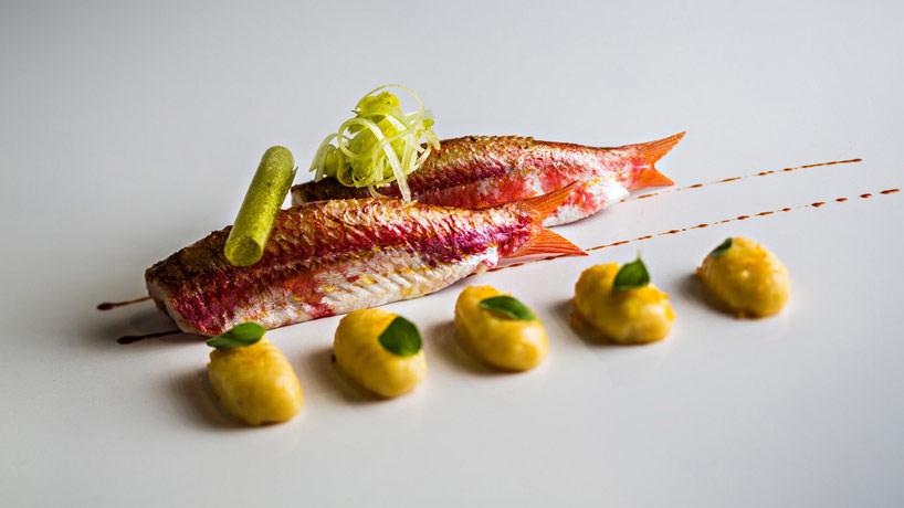 PETITS ROUGETS DE ROCHE - restaurant La Scène - Paris - Stéphanie Le Quellec