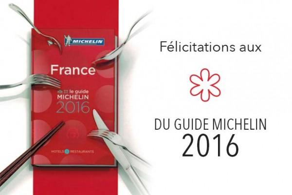Guide Michelin 2016 1 étoile